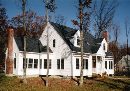 Gallery rh irving home buildersrh irving home builders for Dormered cape