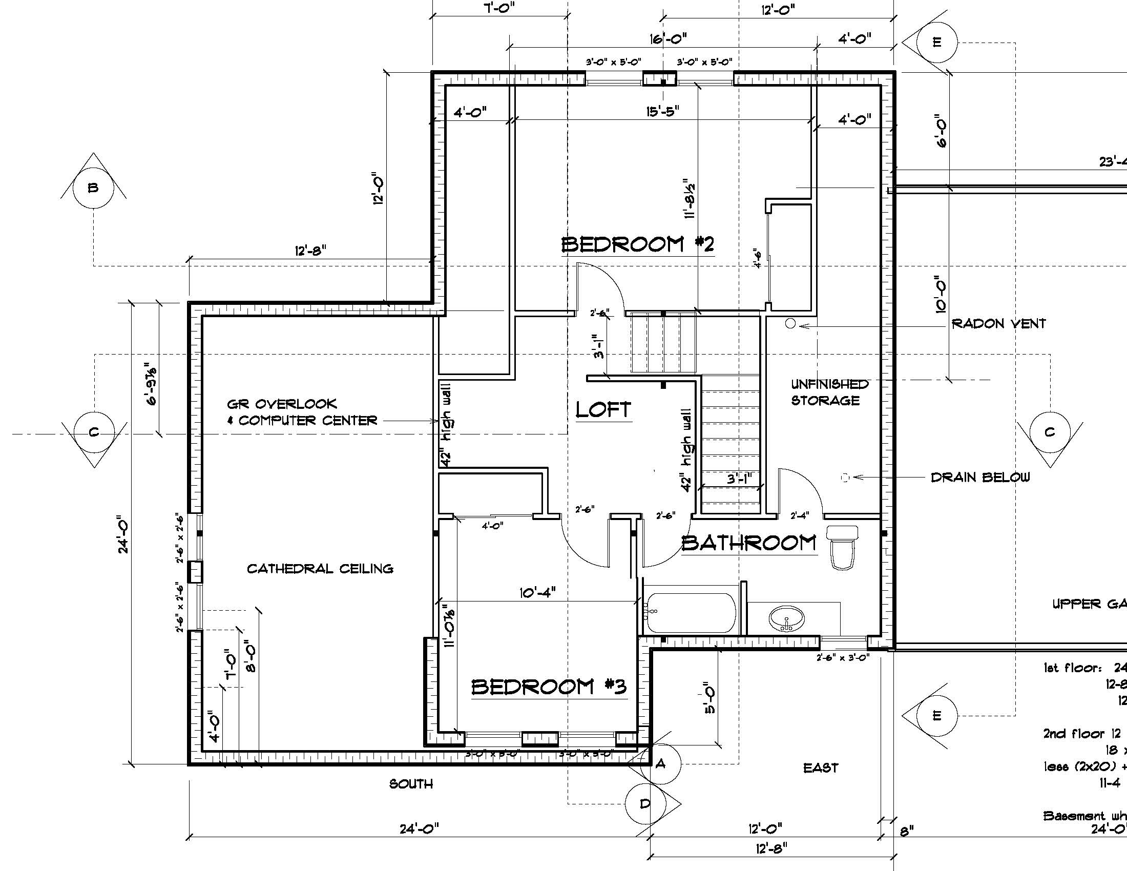 Sample floor plan 1 rh irving home buildersrh irving for Floor plan examples